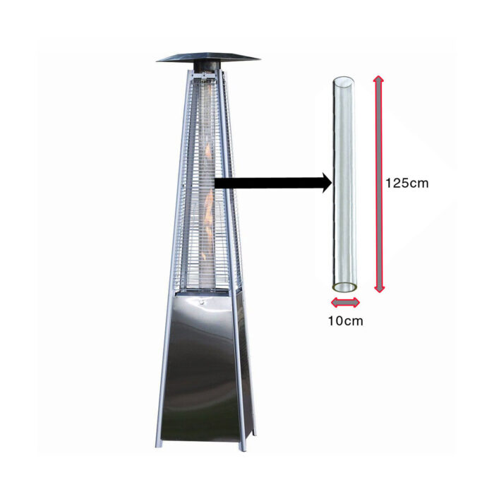 Glass Tube For Patio Heater